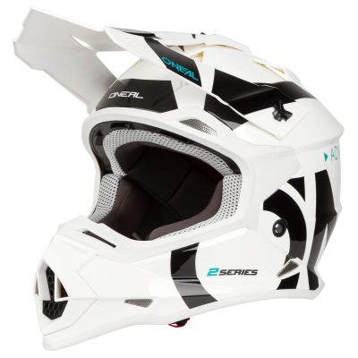 O'NEAL 2SERIES SLICK WHITE/BLACK