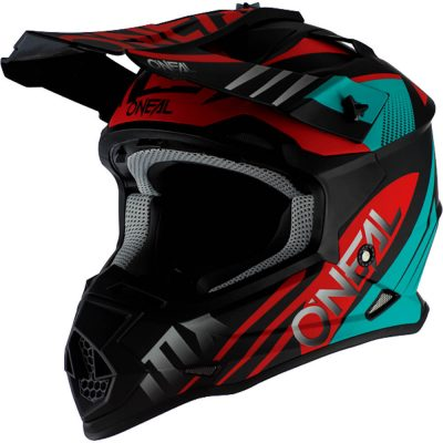 O'NEAL 2SERIES SPYDE 2.0 BLACK/TEAL/RED 2020