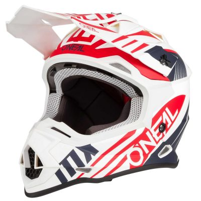 O'NEAL 2SERIES SPYDE 2.0 WHITE/BLUE/RED 2020