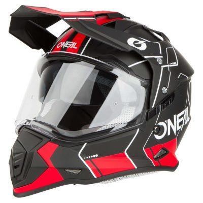 O'NEAL SIERRA II COMB BLACK/RED