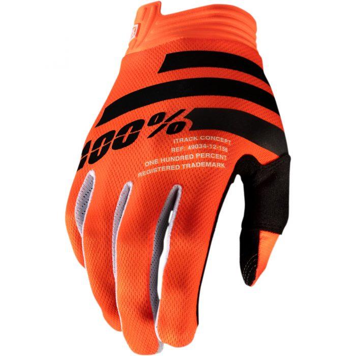 Ръкавици 100% iTRACK Orange/Black