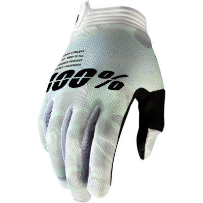 Ръкавици 100% iTRACK White Camo