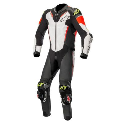 Екип Alpinestars Atem v3 Black/White/Red/Yellow Fluo