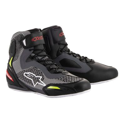 ALPINESTARS Faster-3 Rideknit Black/Grey/Yellow Fluo