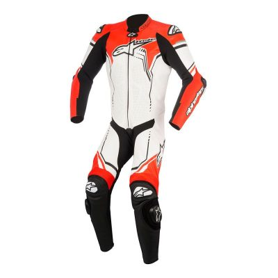 Екип Alpinestars GP Plus v2 White/Black/Red Fluo