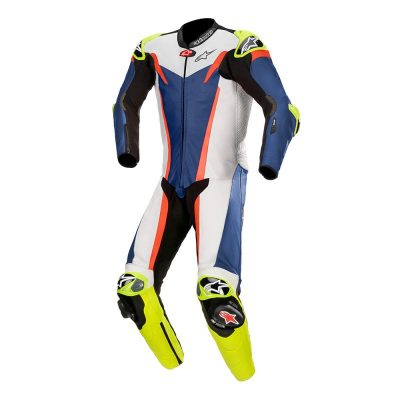 Екип Alpinestars GP Tech v3 Blue/White/Red Fluo