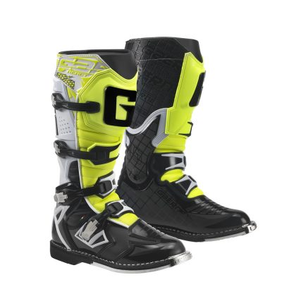 Ботуши Gaerne G-React White Black Yellow