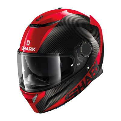 SHARK SPARTAN CARBON Red