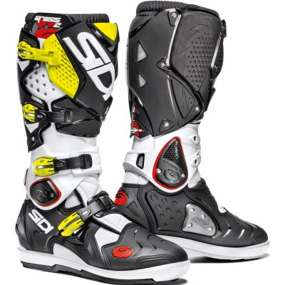 SIDI Crossfire 2 SRS White/Black/Yellow Fluo
