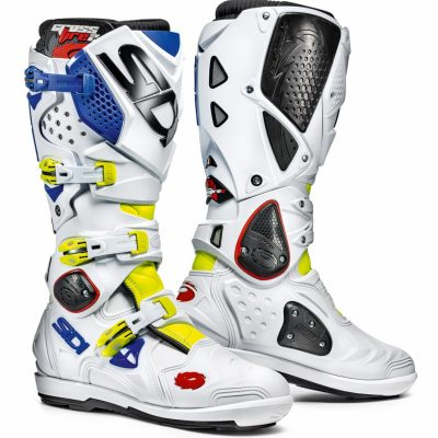 SIDI Crossfire 2 SRS White/Bllue/Yellow