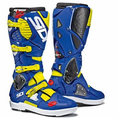 SIDI Crossfire 3 SRS Yellow Fluo/Blue