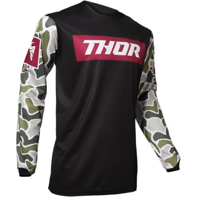 THOR Pulse Fire Black/Maroon