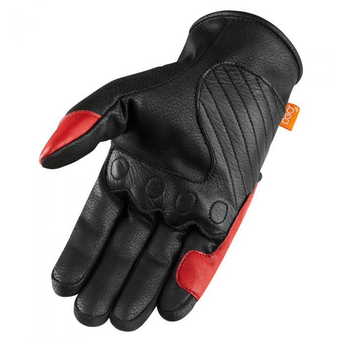 icon Contra 2 gloves red