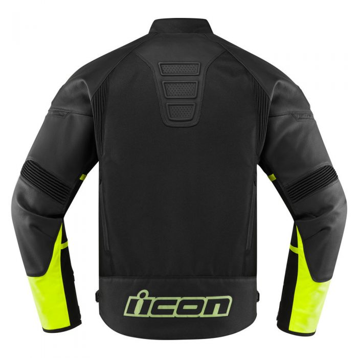 Icon Contra 2 jacket hi-viz