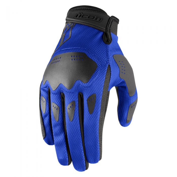 Icon Hooligan gloves blue