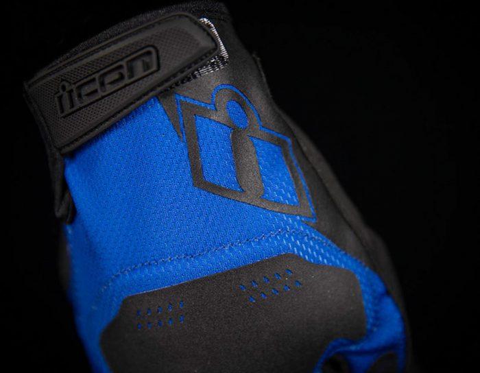 Ръкавици ICON Hooligan Blue