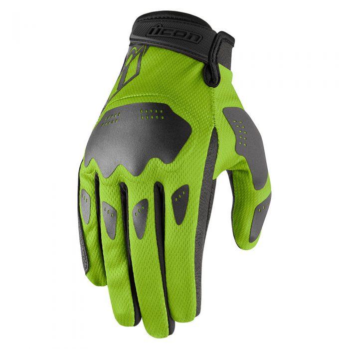 Icon Hooligan gloves green