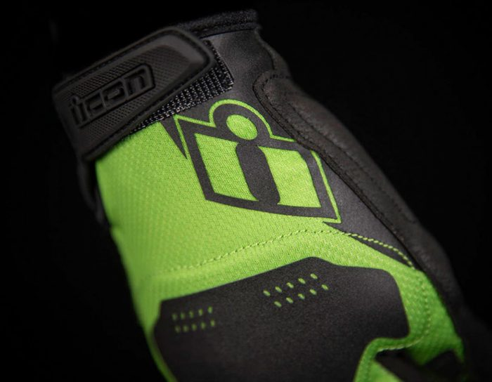 Ръкавици ICON Hooligan Green
