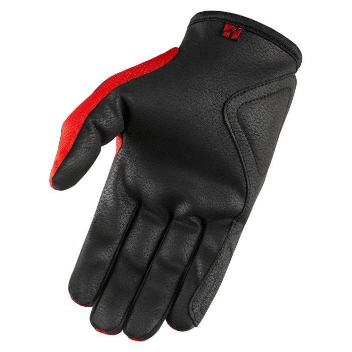 Icon Hooligan gloves red