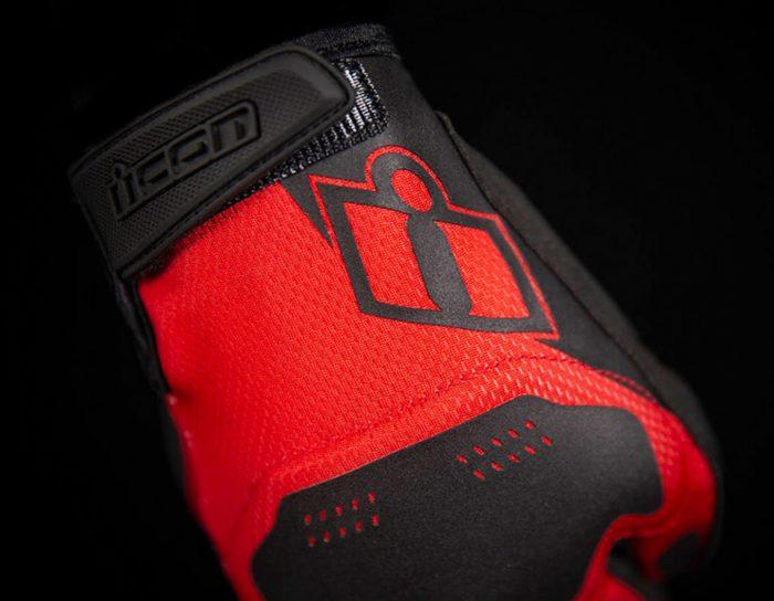 Ръкавици ICON Hooligan Red