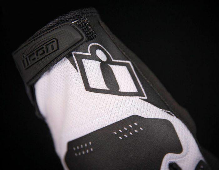 Ръкавици ICON Hooligan White