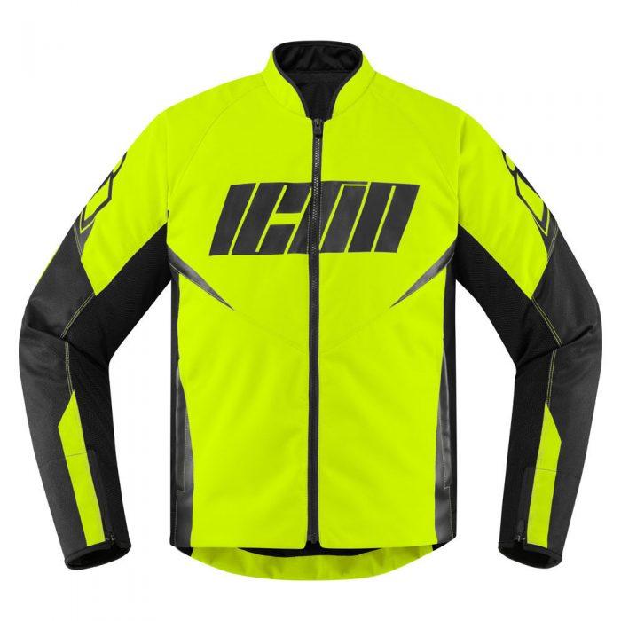Icon Hooligan jacket hi-viz
