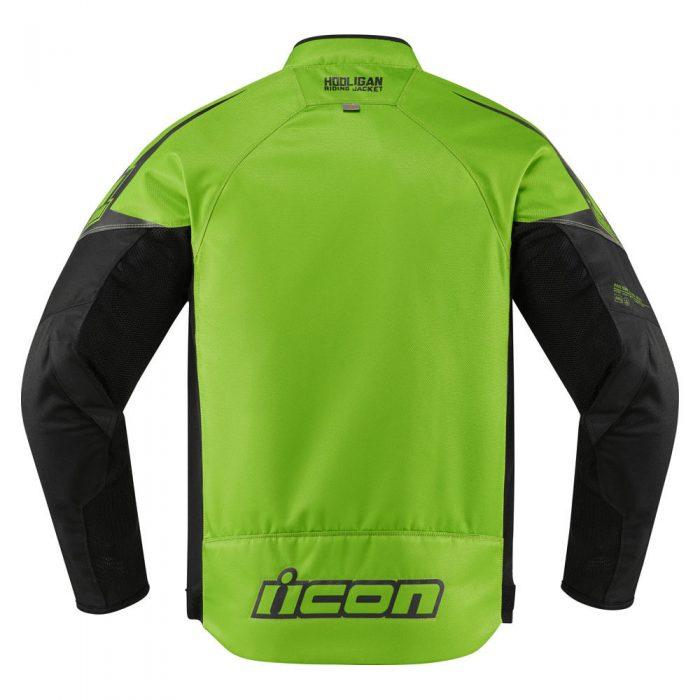 Icon Hooligan jacket green