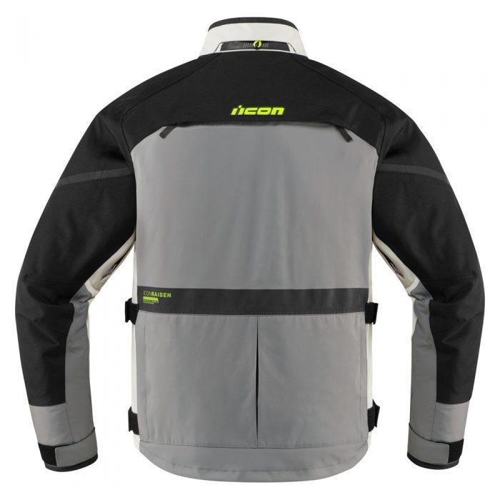 Icon Raiden jacket grey