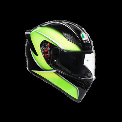 Каска AGV K1 Qualify Black/Lime