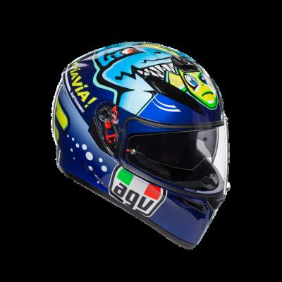 Каска AGV K3 SV Rossi Misano
