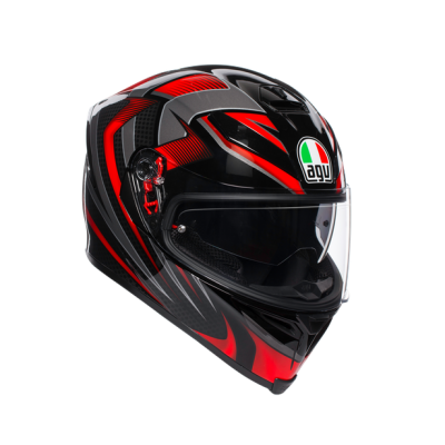 AGV K5 S Hurricane Black/Red
