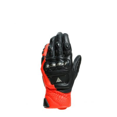 Ръкавици DAINESE 4-Stroke Black/Fluo Red