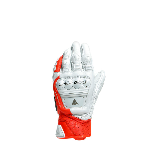 Dainese 4-Stroke White/Fluo Red