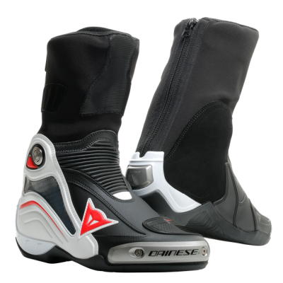 Dainese Axial D1 Black/White/Red-Lava
