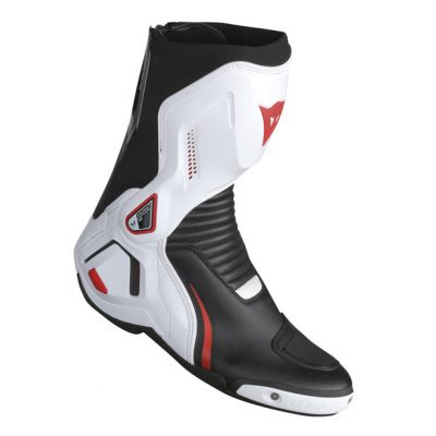 Ботуши Dainese Course D1 Out Black/White/Red-Lava