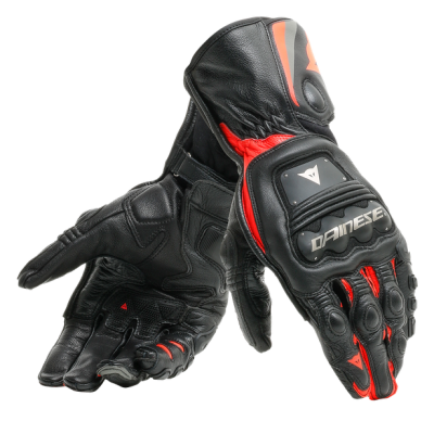 Ръкавици DAINESE Steel-Pro Black/Fluo Red