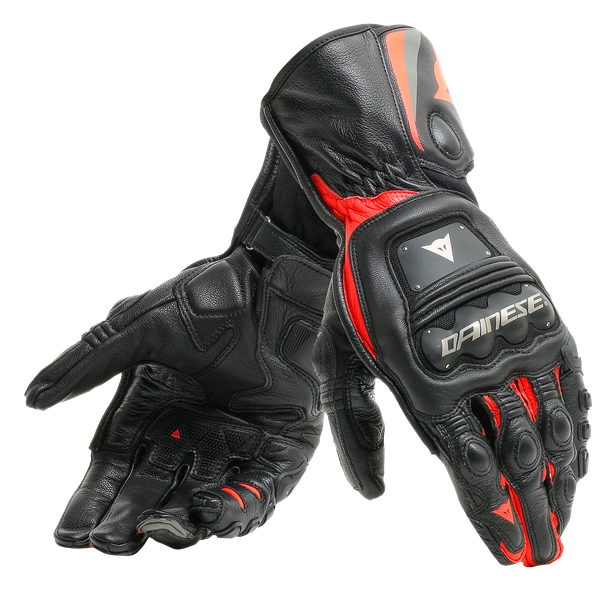 Dainese Steel Pro Black/Fluo Red