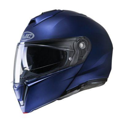 HJC i90 Semi Flat Metallic Blue