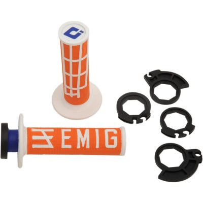 Дръжки ODI Lock-On Emig v2 Orange/White