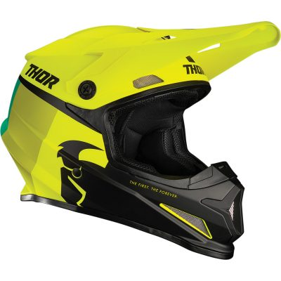 Каска THOR Sector Racer Acid/Lime