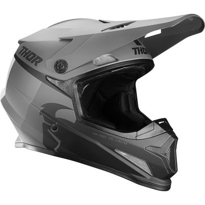 Каска THOR Sector Racer Black/Charcoal