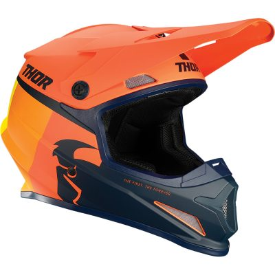 Каска THOR Sector Racer Orange/Midnight