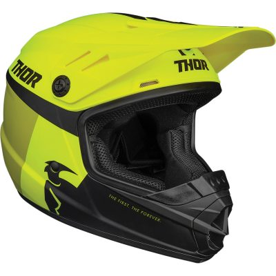 Детска каска THOR Sector Racer Acid/Lime