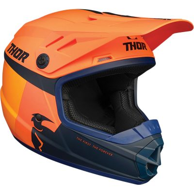 Детска каска THOR Sector Racer Orange/Midnight