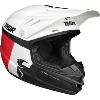 Детска каска THOR Sector Racer White/Blue/Red