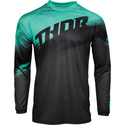 Детско джърси THOR Sector Valor Mint/Charcoal