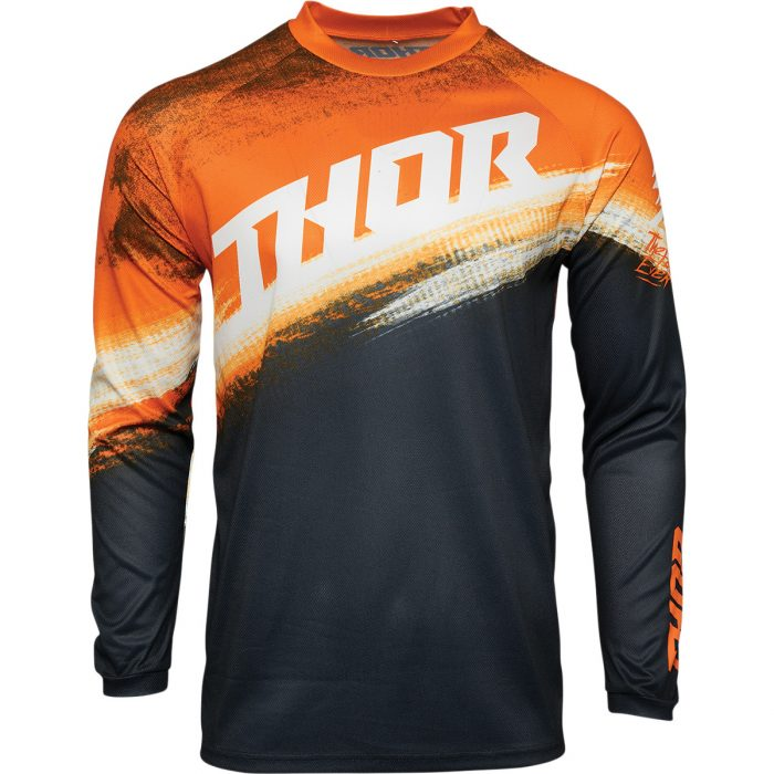 Детско джърси THOR Sector Valor Orange/Midnight