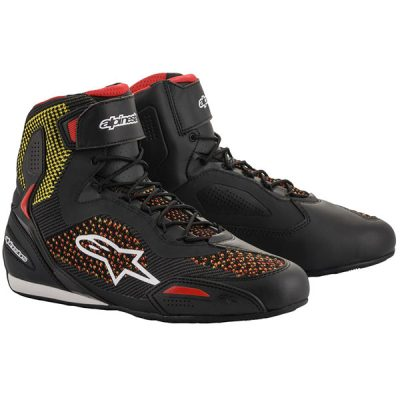 ALPINESTARS Faster-3 Rideknit Black/Yellow/Red