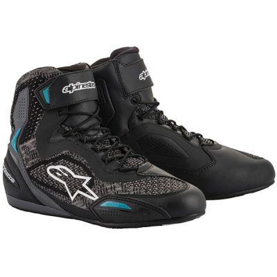 Дамски обувки ALPINESTARS Stella Faster-3 Rideknit Black/Teal