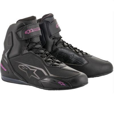 Дамски обувки ALPINESTARS Stella Faster-3 Black/Fuchsia